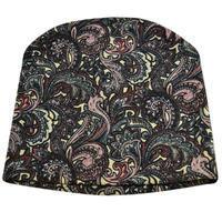 Čepice beanie - barevná s potiskem