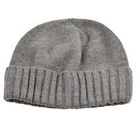 Knitted hat - grey