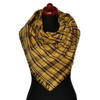 Velký šátek - zlatohnědá kostka