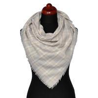 Velký šátek - šedá kostka