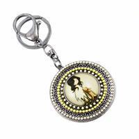Klíčenka - přívěsek na kabelku prs229-10 - žlutá holčička