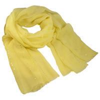 Šála klasická - žlutá