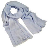 Šála klasická - modrá jednobarevná
