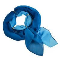 Šála s bižuterií Karolína 245kar002-30.31 - modrá