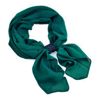 Jewelry scarf Melody - dark green