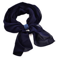 Jewelry scarf Melody - dark blue
