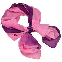 Jewelry scarf Melody - pink and violet