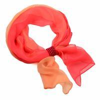 Jewelry scarf Melody - coral