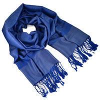 Šála teplá - modrá