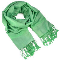 Classic cashmere scarf - menthol