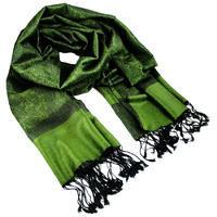 Šála teplá - zelená