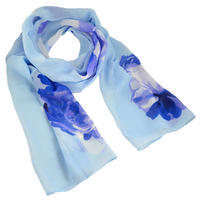 Classic women's scarf - violet