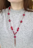 Náhrdelník Bijoux Me - červený