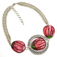 Necklace - red