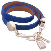 Náramek trojitý 26ac002-30- modrý