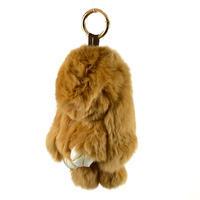 Přívěsek na kabelku - klíčenka kr495-43 - hnědý králík