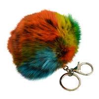 Přívěsek na kabelku - klíčenka prq125-02 - barevná
