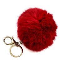 Přívěsek na kabelku - klíčenka prq125-20 - červený