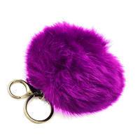 Přívěsek na kabelku - klíčenka prq125-35 - fialový