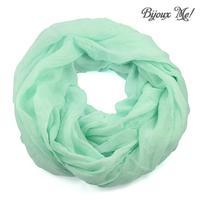 Snood 69tu001-32a - solid turquoise