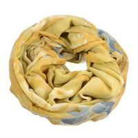 Snood 69tu006-14.53 - beige and white strips