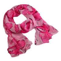 Šála vzdušná 69kl009-23 - růžová