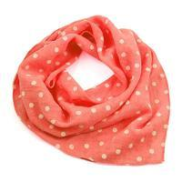 Cotton neckerchief 63sk003b-27.01 - pink