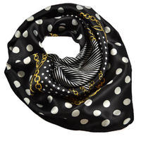 Small neckerchief 63sk003-70.01a - black