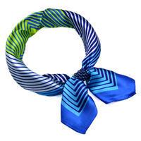 Šátek s bižuterií Letuška Light - modrozelený