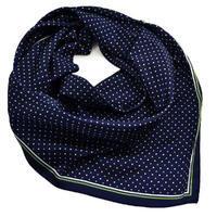Šátek - modrozelený s puntíky