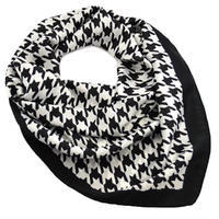 Šátek - černobílý