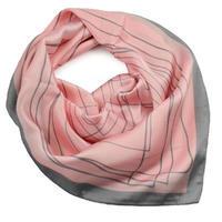Šátek - růžovošedý
