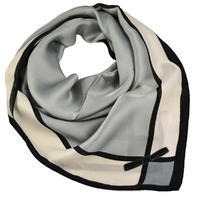 Square scarf - grey