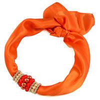 Jewelry scarf Stewardess - orange