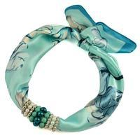 Jewelry scarf Stewardess - menthol green