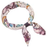 Šátek s bižuterií Letuška Light - bledě fialový
