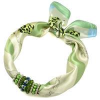 Jewelry Scarf Stewardess - green