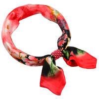 Šátek s bižuterií Letuška Light - červený