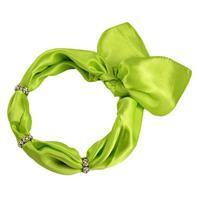 Šátek s bižuterií Sofia 245sof001-51 - zelený