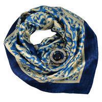 Šátek s bižuterií Stella - modrý