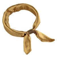 Šátek s bižuterií Letuška Light - zlatý
