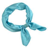 Šátek s bižuterií Letuška - tyrkysový