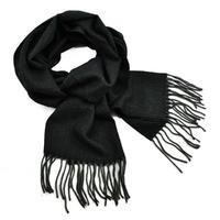 Classic warm scarf - black