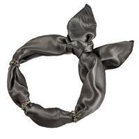 Šátek s bižuterií Sofia 245sof001-75 - šedý