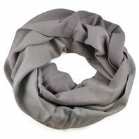 Winter infinity scarf - grey
