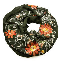 Snood 69tu001-70b - solid black