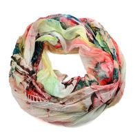 Summer snood 69tl002-23.50 - pink and green