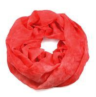 Snood 69tu004-53.20 -  red and green with flowers