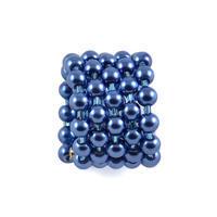 Velká spona na šálu 149sp30 - modrá