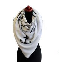 Velký šátek 69pl014-01.70a - bílý